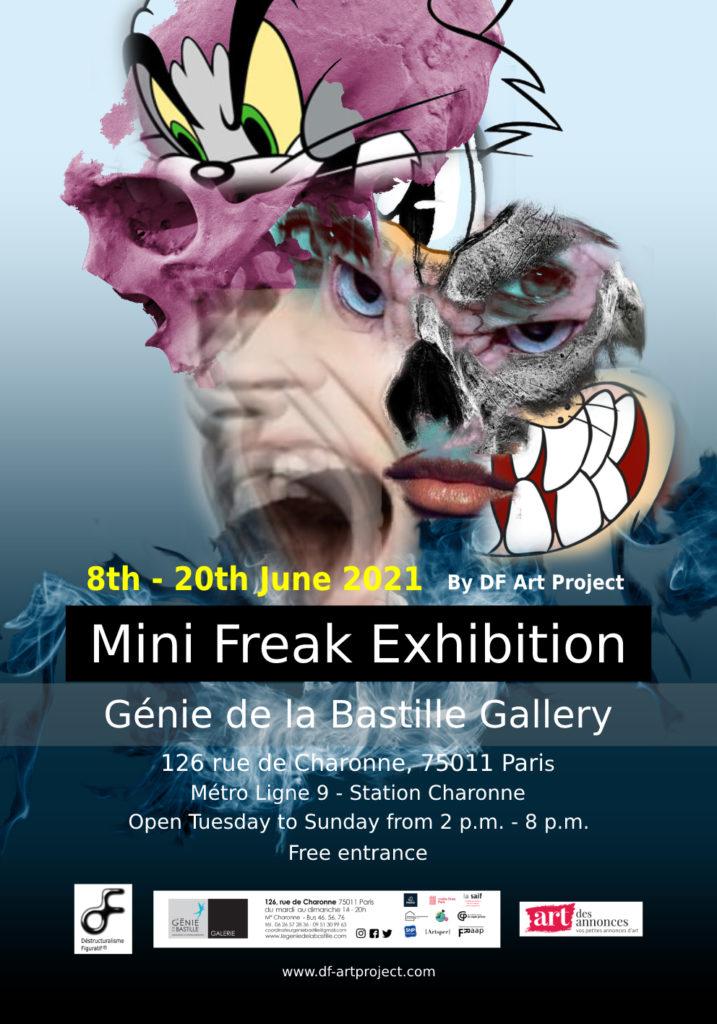 Mini Freak Exhibition - Génie de la Bastille Gallery