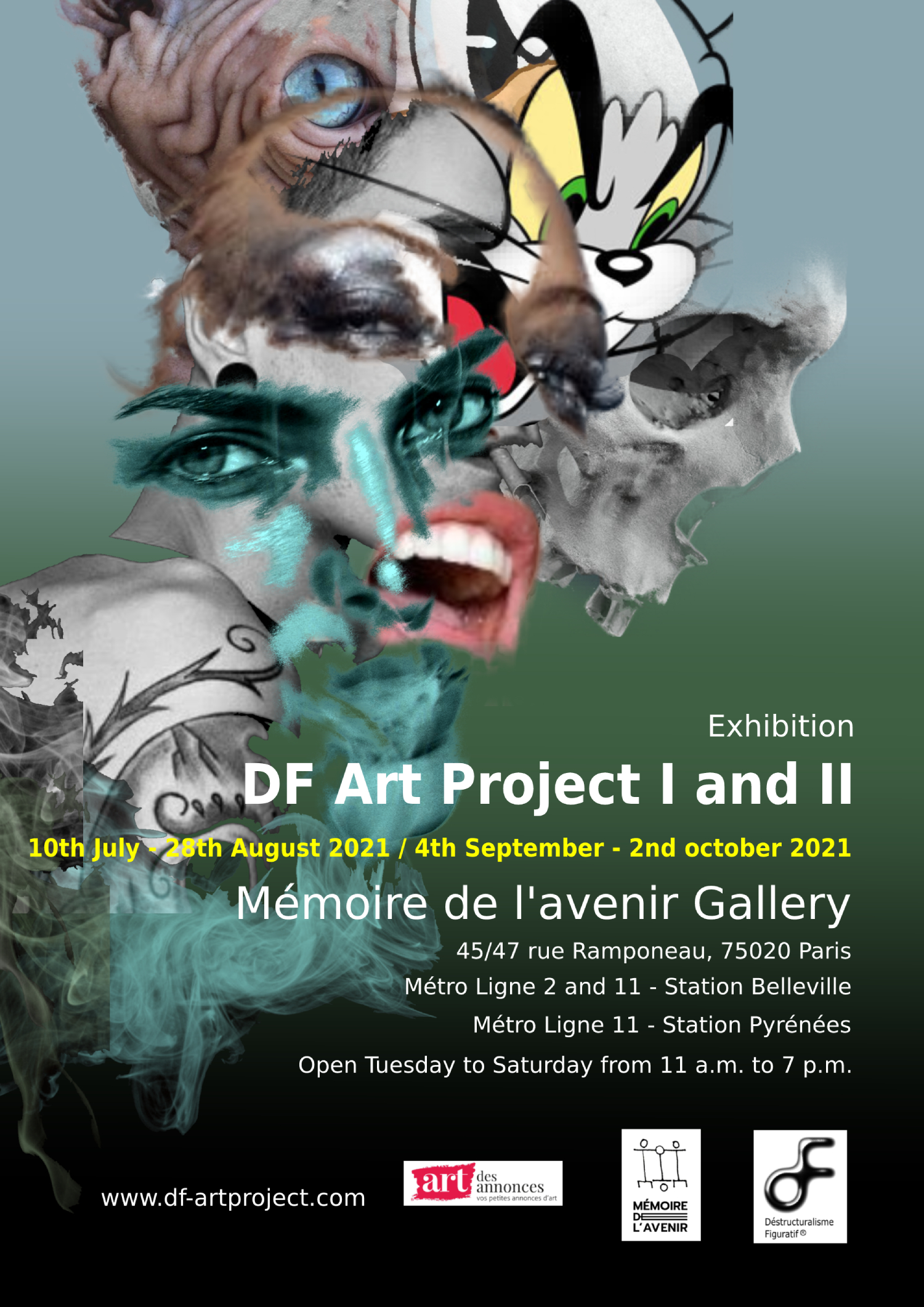 DF Art Project Exhibition I & II