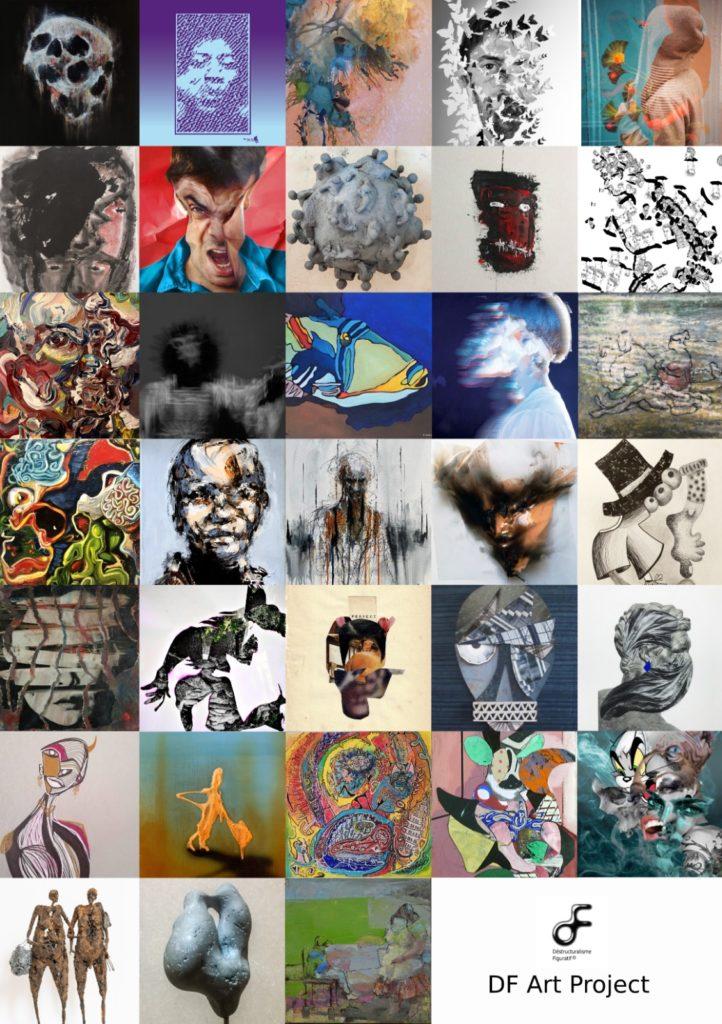 """Les artistes de l""""exposition Mini Freak à la Galerie Génie de la Bastille"""
