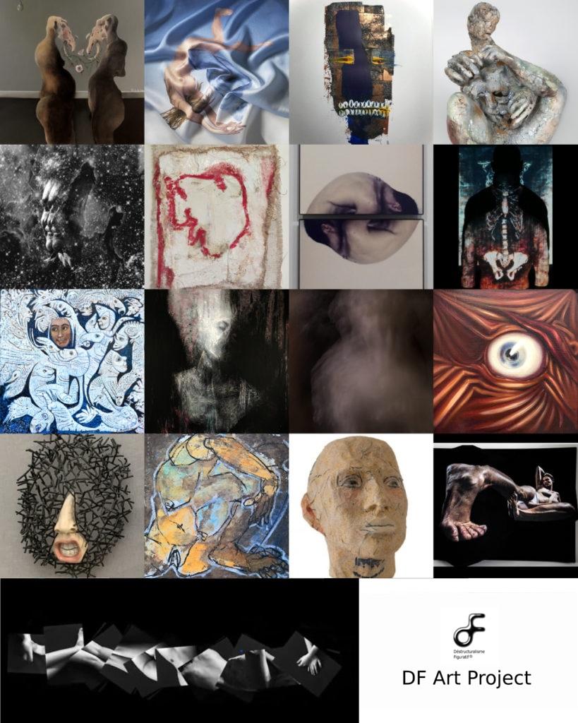 Exposition DF Art Project I & II - Galerie Mémoire de l'Avenir